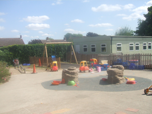 Early Years Outdoor Area 2